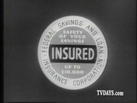 BANKING IS SAFE WITH GOVERMENT CONTROL 1961 FEDERAL SAVINGS & LOAN