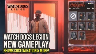 Watch Dogs Legion Gameplay Shows Customization, New Activities & Way More (Watch Dogs 3 Gameplay)