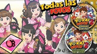 TODAS las Fotos de las Pussycat Miau I Trucos Yo-kai Watch 2: Fantasqueletos y Carnánimas