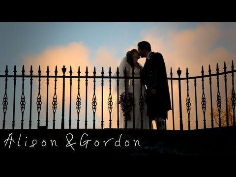 Airth Castle Wedding - Alison & Gordon