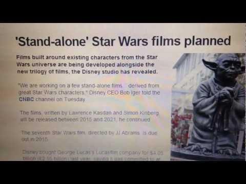 STAND-ALONE STAR WARS MOVIES 2015 - 2021 - LAWRENCE KASDEN & SIMON KINBERG