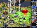 Red Alert 2 war 1 vs 7 Brutal enemy - CAR THUNDER ⚡⚡⚡