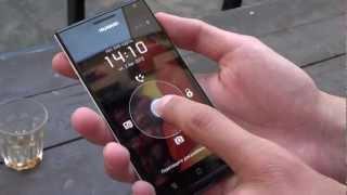 """Утонченный"" китаец - Huawei Ascend P1. Обзор от Droider.ru"