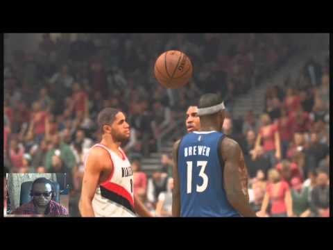 NBA 2K14 PS4 - The Portland Trail Blazers Vs (My Gm) Timberwolves Game 43