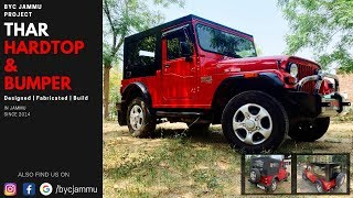 "BYC JAMMU | ""NOT SO MODIFIED"" MAHINDRA THAR 