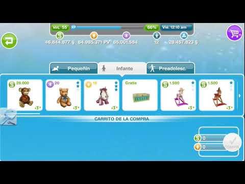Sims Gratuito || Millones de PS, PV y Simoleones en iOS y Android (Junio 2014)