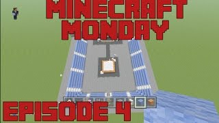 Minecraft Monday - Building a Wrestling Arena - Episode 4