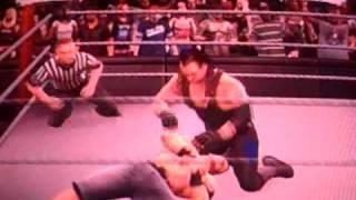 WWE Dream Matches John Cena v.s. Undertaker Part :1: