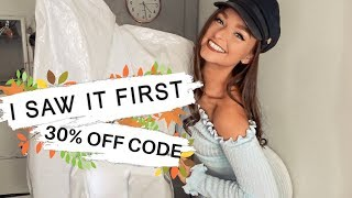 HUGE TRY ON I SAW IT FIRST HAUL (with 30% Discount!!!!) | AD