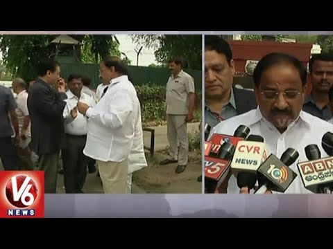 Minister Thummala Meets Union Minister Nitin Gadkari, Seeks Help For Roads Development | V6 News