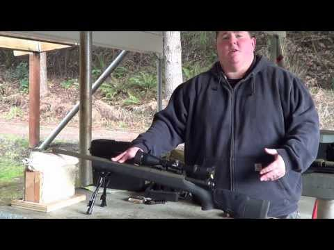 Remington 700 SPS Tactical 223 Shooting Demo