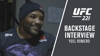"UFC 221: Yoel Romero - ""You Need To Believe In This With Your Life"""