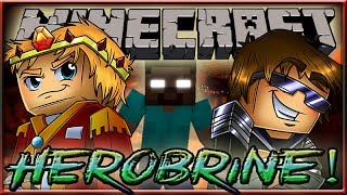 MINECRAFT: HEROBRINE COPS N ROBBERS! Ft: SkyDoesMineCraft, MunchingBrotato, Kkcomics & Dartron!