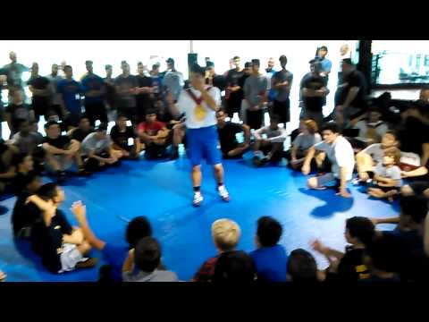 Intro of Henry Cejudo and his mindset of wrestling