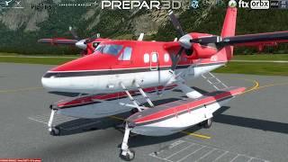Aerosoft Twin Otter Extended P3D v 4.2 Prepar3D v 4.2 Microsoft Flight Simulator X Steam Edition FSX