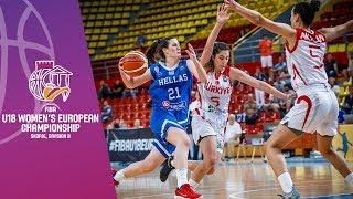 Turkey v Greece - Full Game - FIBA U18 Women's European Championship Division B 2019