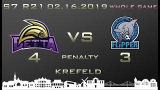 Euroleague 7th season WHOLE GAME Betta - Flipper 4-3 (0-0, 0-0)