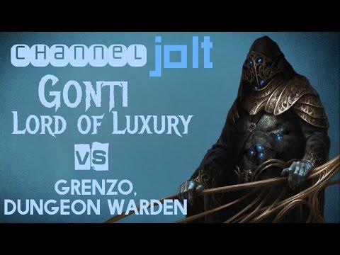 Jolt - Commander - Gonti, Lord of Luxury vs Grenzo, Dungeon Warden