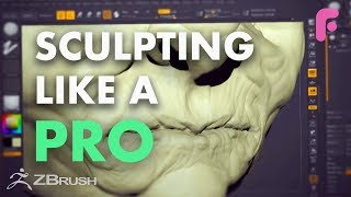Learn to Sculpt Like a Pro in ZBrush