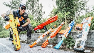 LTT Nerf War : Captain SEAL X Warriors Nerf Guns Fight Criminal Dr Mundo Protection People
