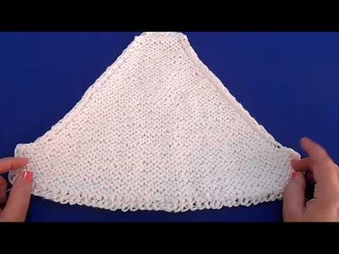 Вязание спицами - пуловер реглан с узором коса - Часть 1
