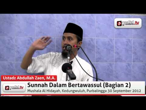 Ceramah Agama: Jenis-Jenis Tawassul (Video Klip)