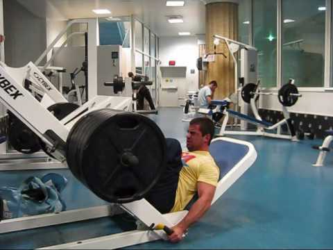 60 rep leg press widowmaker Image 1