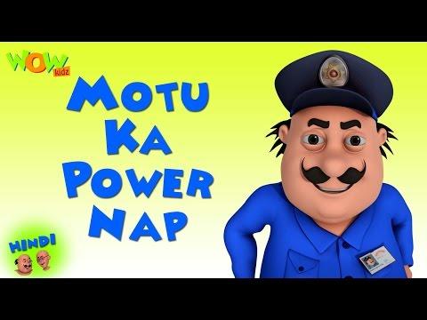 Motu Ka Power Nap - Motu Patlu in Hindi WITH ENGLISH, SPANISH & FRENCH SUBTITLES thumbnail
