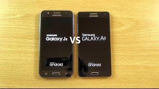 Samsung Galaxy J5 VS Galaxy A5 - Speed & Camera Test!