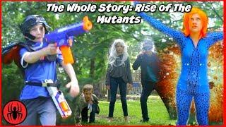 The Whole Story: Rise of The Mutants! Batman Battles Mystique X-men Comic Movie Superhero Kids