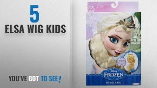 Top 10 Elsa Wig Kids [2018]: Disney Frozen Elsa's Tiara and Braid