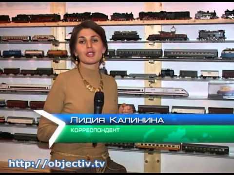 Коллекция поездов харьковского железнодорожника