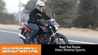 Hero Xtreme Sports Test Ride Review - Bikeportal