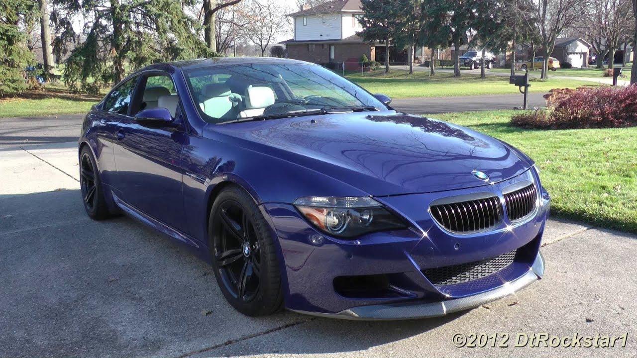 BMW M6 V10 w/ Eisenmann Race Exhaust & Straight Pipes ...