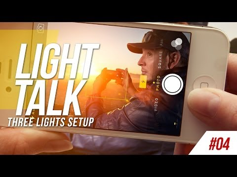 Light Talk #04 - Three Light Setup