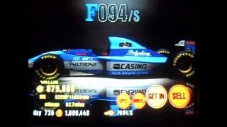 Gran Turismo 3: ALL F1 Cars in every color [NTSC]