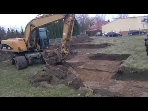 Prace Ziemne Przy Budowie Nowego Domu W Tyńcu Małym