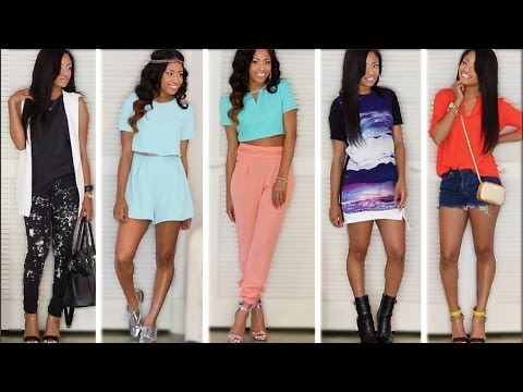 Let's Play Dress Up! - 5 SPRING OUTFITS