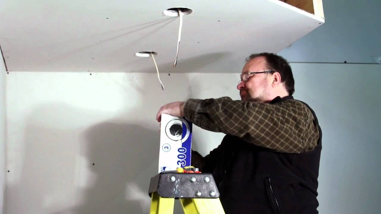 bazz recessed lighting how to install recessed lighting insulated ceiling youtube. Black Bedroom Furniture Sets. Home Design Ideas