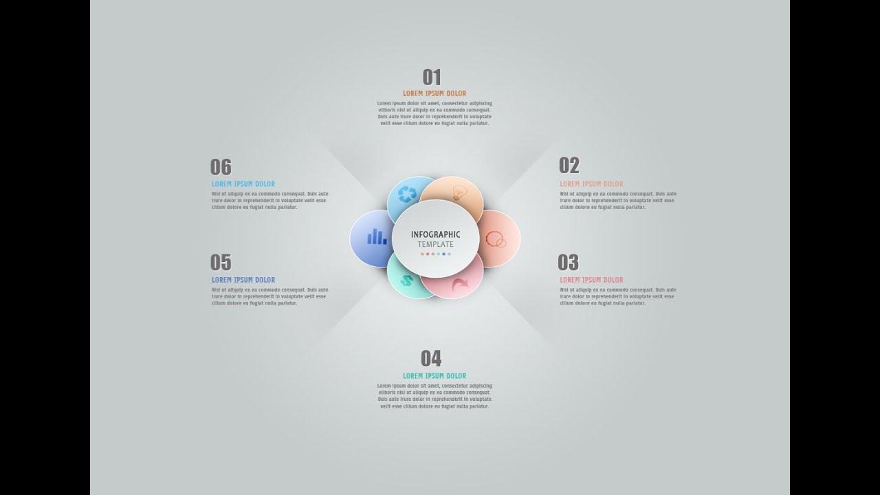 Infographic tutorial photoshop