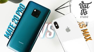 Flagship của năm? iPhone XS Max hay Mate 20 Pro