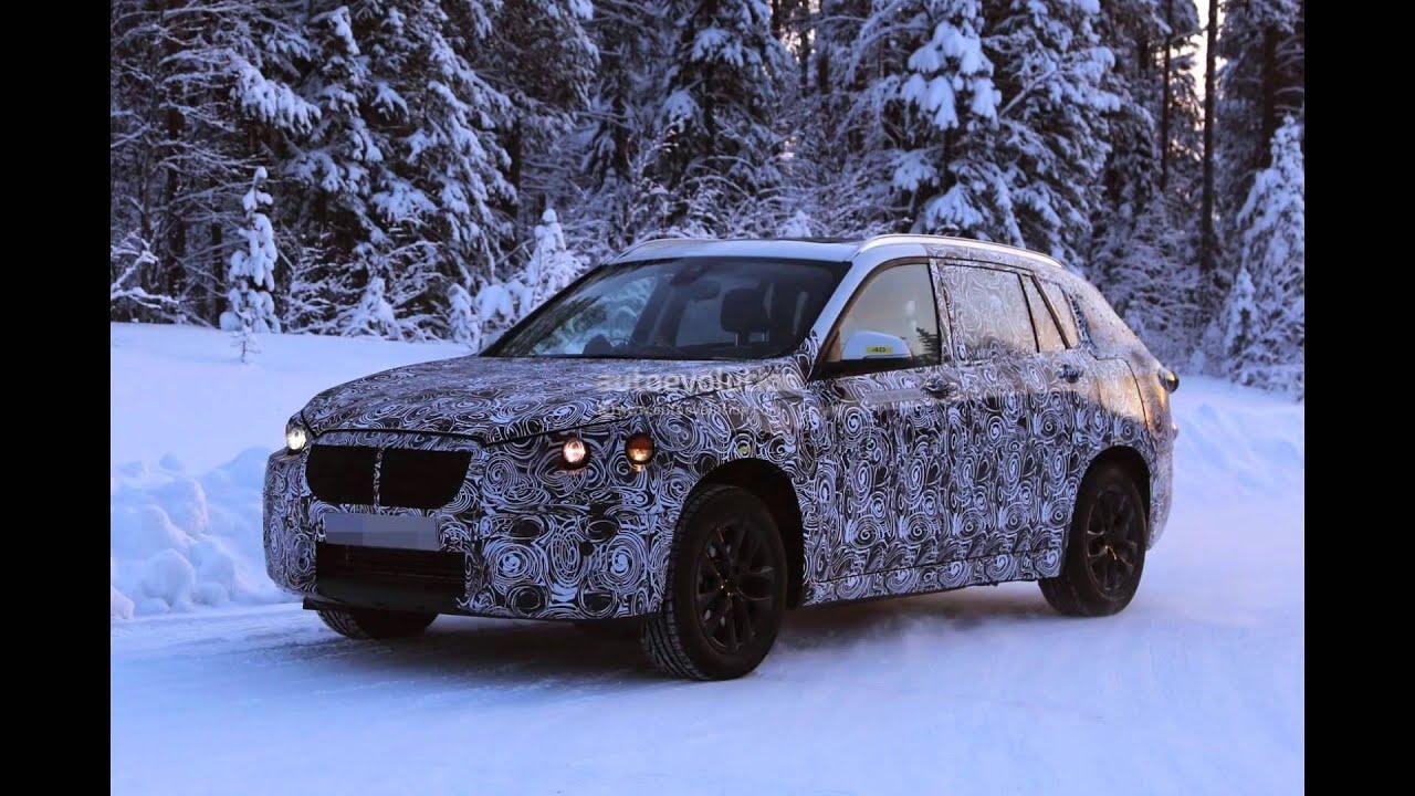 2016 BMW F48 X1 7-Seater Spy Shot ! - YouTube