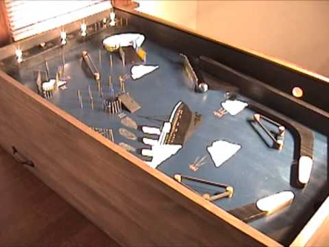 Titanic Pinball Machine