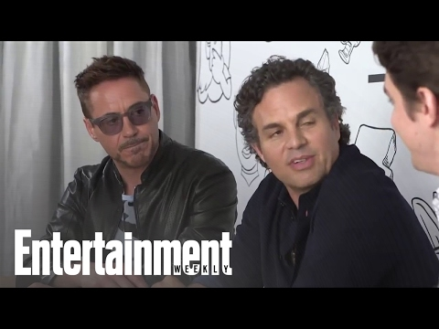 Comic-con 2014: What's Next For Iron Man And Hulk's Friendship In 'avengers: Age Of Ultron' video