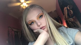 -BLINDED- Sunset look! Using all of Makeup Revolution's Products!