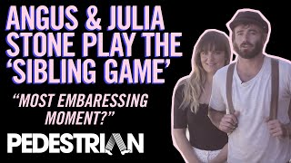 Angus & Julia Stone Play The Sibling Quiz