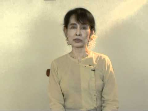 Special Message from Daw Aung San Suu Kyi to the Feminist Majority Foundation