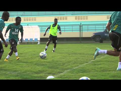 Ghana - Training sessions (24/01) - Orange Africa Cup of Nations, EQUA...