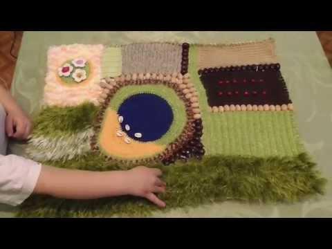 Связать развивающий коврик своими руками