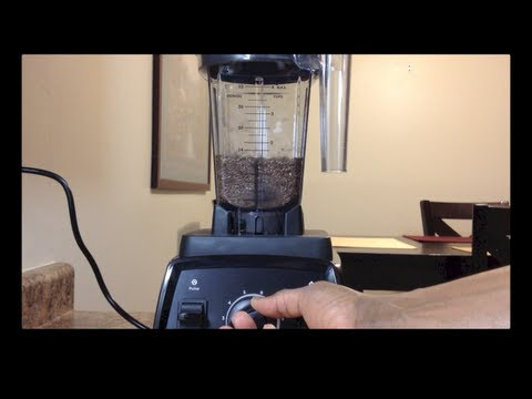 Vitamix Dry Blade Container Review. New Website!